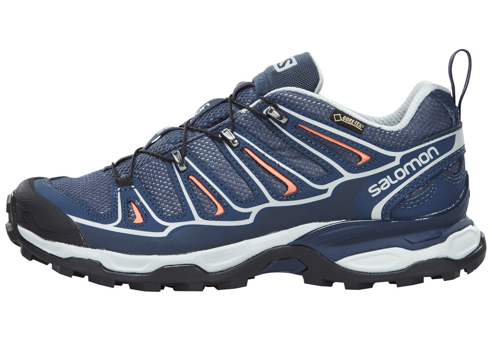 Salomon X Ultra 2 GTX , Chaussures Femme , gris/orange